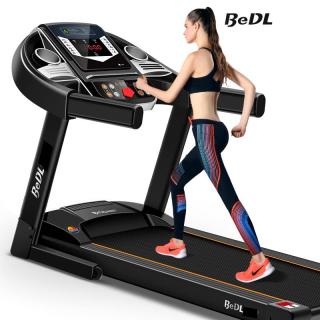 Máy chạy bộ trong nhà máy chạy bộ mini máy tập trong nhà máy gym BEDL có thể gấp gọn chạy điện yên tĩnh có thể phát nhạc chống rung chống ồn chịu tải lên đến 100KG TopOne2020 thumbnail