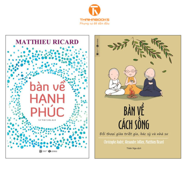 Sách - Combo Bàn về hạnh phúc + Bàn về cách sống