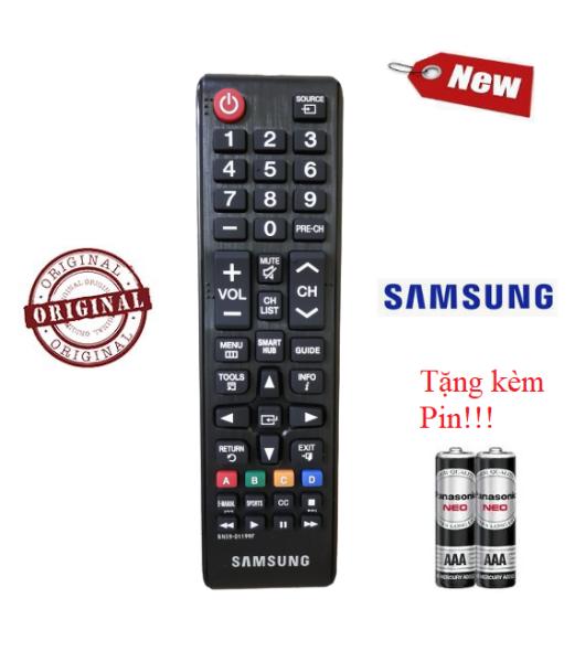 Bảng giá Điều khiển tivi Samsung BN59-01199F- Hàng tốt chính hãng Made in Malaysia Tặng kèm Pin