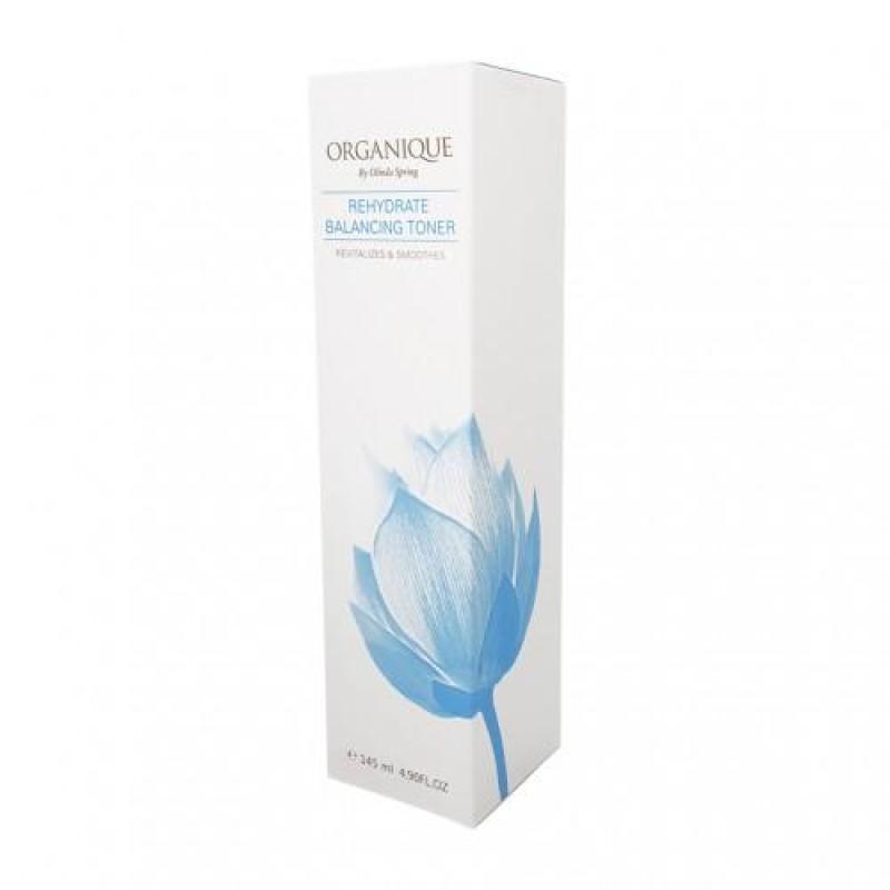 Nước cân bằng dưỡng ẩm Organique Rehydrate Balancing 145ml - Pharmacy Bank cao cấp