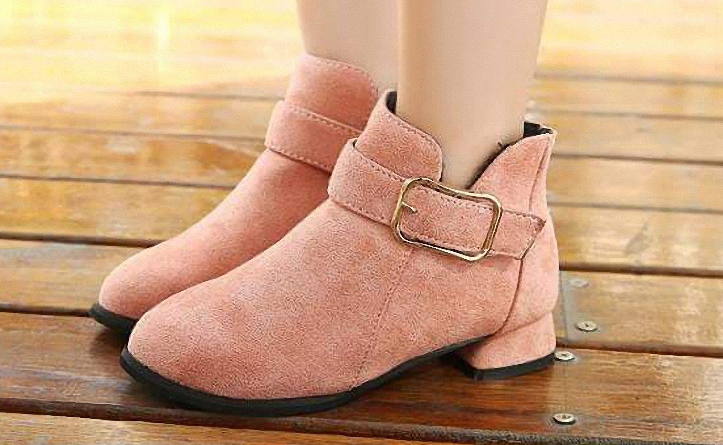 Giá bán Giày boot cao cấp  cho bé phong cách hàn quốc 3 tuổi đến 13 tuổi : B07