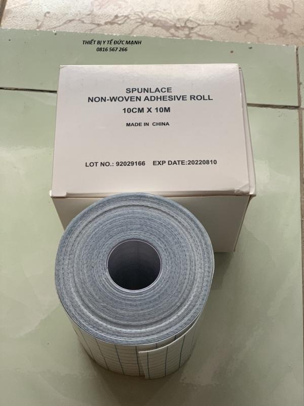 Băng dính co giãn dùng để đắp thuốK 10cm x 10m