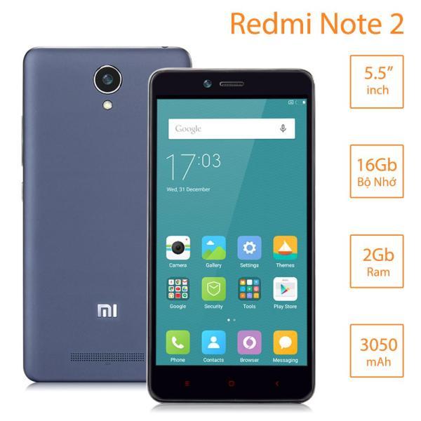 Điện thoại Xiaomi Redmi Note 2 (Ram 2G/16G) Chip xử lý 8 nhân mạnh mẽ
