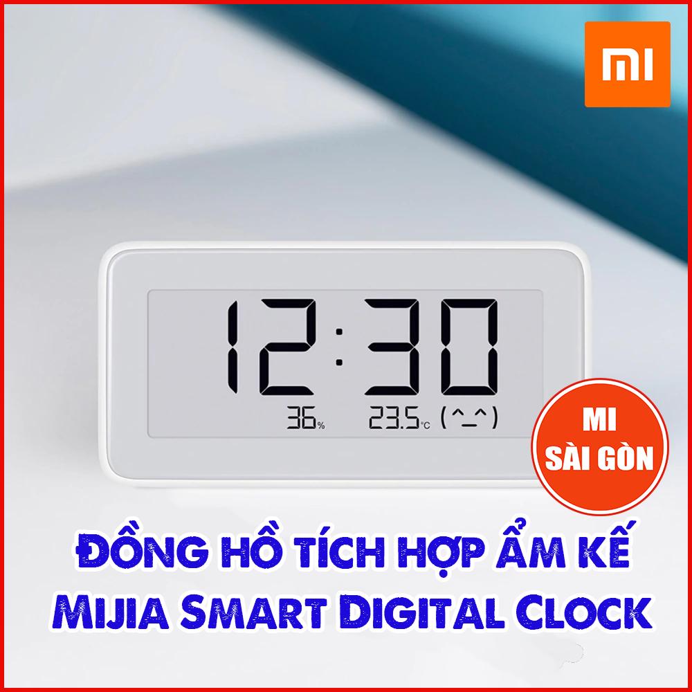 Đồng hồ kiêm ẩm kế Mijia Smart Clock