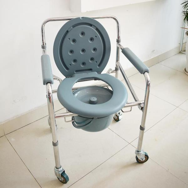 Ghê bô vệ sinh có bánh xe, đế chân LUCASS GX300