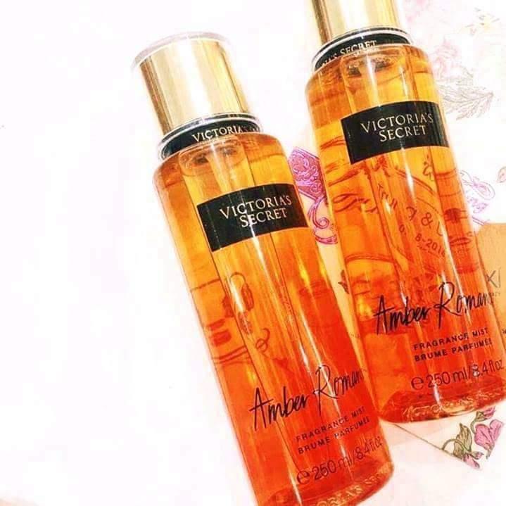 Xịt thơm toàn thân Victoria's Secret 250ml Mùi Amber Romance