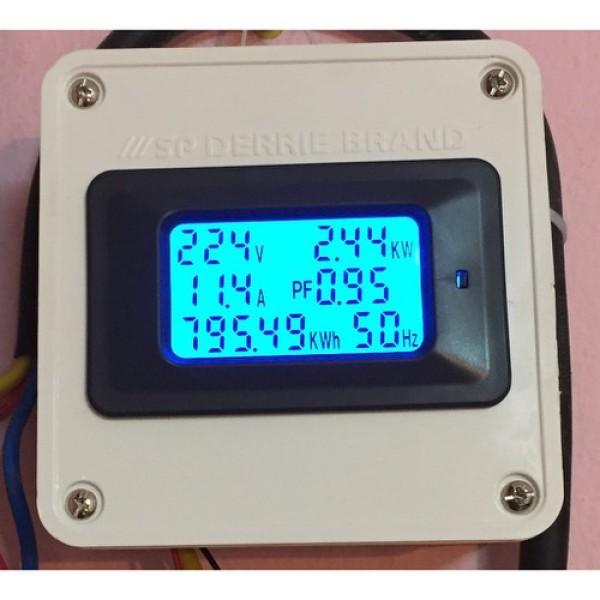 Thiết bị đo công suất 100A công tơ điện tử