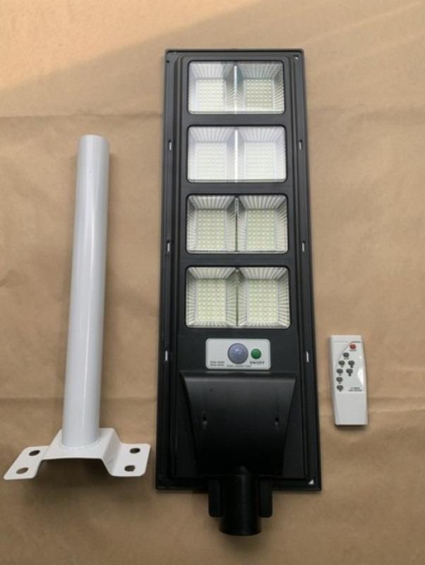 Bộ đèn đường 200w liền thể năng lượng mặt trời sáng trắng
