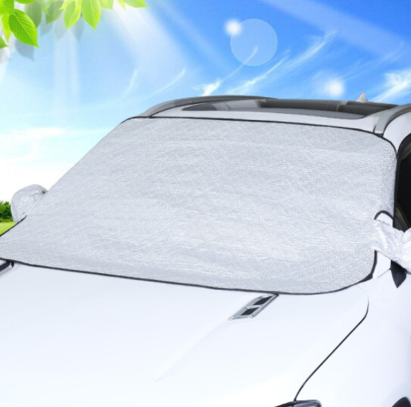 Tấm bạt che chắn nắng ngoài kính lái ô tô, xe hơi cao cấp 4 lớp B3 (Kèm túi đựng gọn nhẹ)