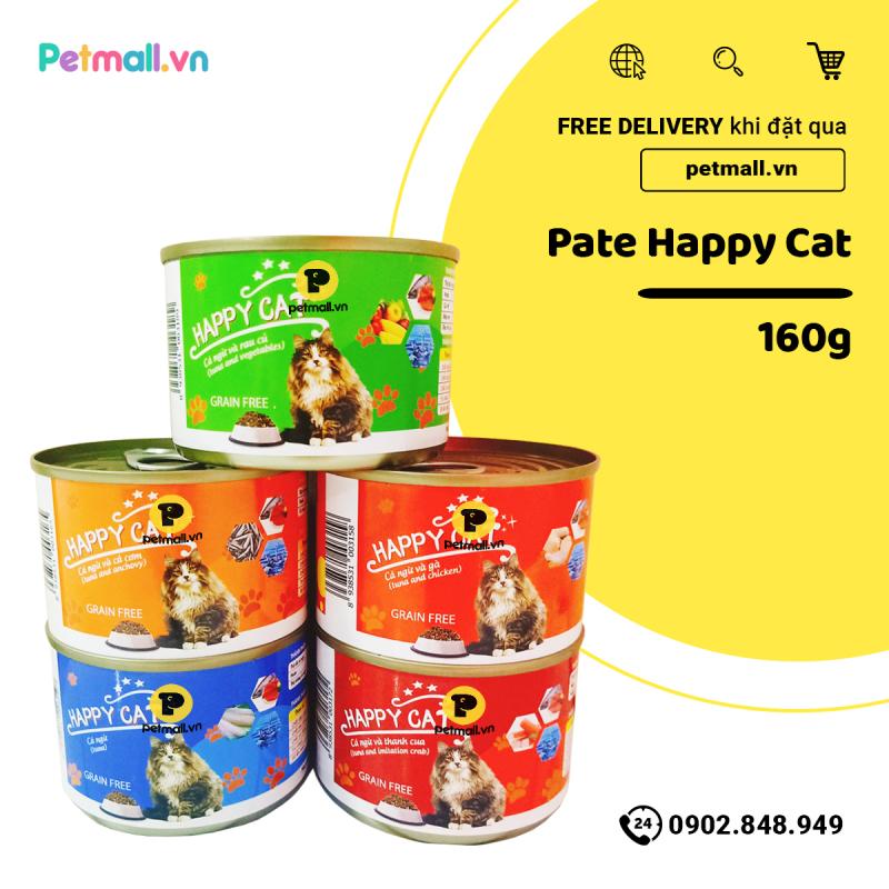 Pate mèo HappyCat 160g