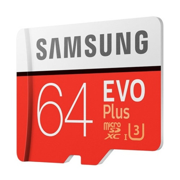 Thẻ Nhớ MicroSDXC Samsung EVO Plus U3 64GB 100MB/s MB-MC64G