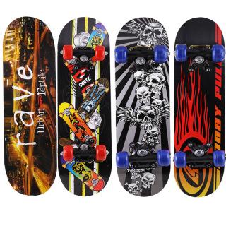 Ván Trượt Skateboard Trẻ Em, Chất Liệu Gỗ Phong Ép Cao Cấp 7 Lớp Dẻo Dai, Bền Bỉ,Kích Thước 60cm .Họa Tiết Siêu Anh Hùng. Chịu Lực Tốt. thumbnail