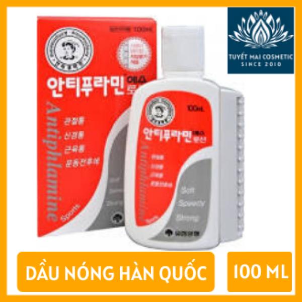 Dầu Nóng Xoa Bóp Antiphlamine từ Hàn Quốc 100ml