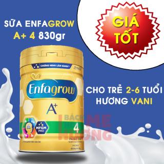 Sữa bột Enfagrow ( Enfa grow ) A+ 4 Vanilla cho trẻ từ 2-6 tuổi - 830g HSD mới - [Bách Hóa Hoàng Gia] thumbnail