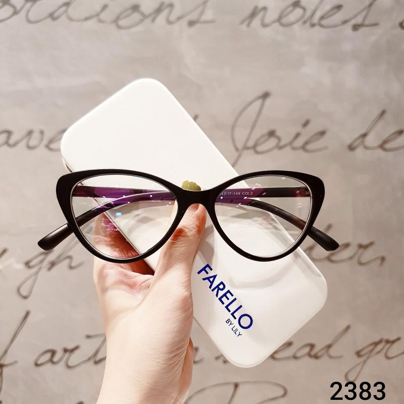 Giá bán [Lấy mã giảm thêm 30%]Kính Cận Gọng Dẻo Hàn Quốc 2383--Kính Gọng Dẻo-Gọng Kính Cận-Kính Cận Unisex-Gọng Kính Cận Đẹp-Lily Eyewear