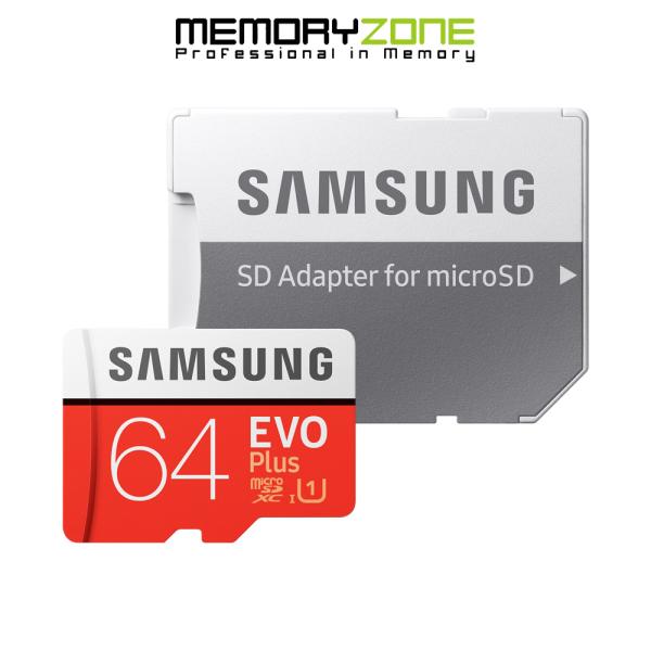Thẻ Nhớ MicroSDXC Samsung EVO Plus U1 64GB 100MB/s MB-MC64H 2020