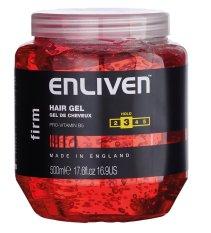 Gel Vuốt Toc Giữ Nếp Vừa Enliven Hair Gel Firm Độ Cứng 3 5 500Ml Hũ Lớn Enliven Chiết Khấu