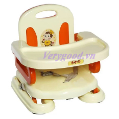 Giá Bán Rẻ Nhất Ghế Ngồi Tập Ăn Cao Cấp Baby Loại 1 Cam