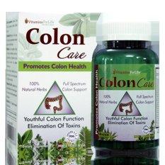 Hình ảnh Giải độc đường ruột thanh lọc hệ tiêu hóa Colon Care 60 viên