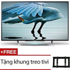 Bảng giá Internet Tivi LED Sony 32inch HD - Model 32W600D (Đen) + Tặng 1 khung treo tivi