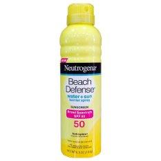 Kem chống nắng dạng bình xịt đi biển Neutrogena Beach Denfense SPF 50 184g tốt nhất