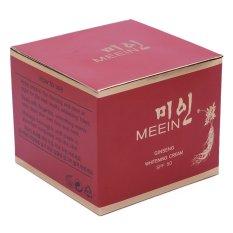 Bán Mua Trực Tuyến Kem Dưỡng Trắng Da Chiết Xuất Nhan Sam Meein Ginseng Whitening Cream Spf50 50G