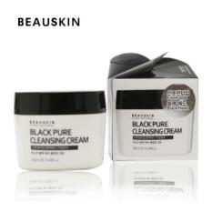 Kem Tẩy Trang Beauskin Black Pure Cleansing Cream 300Ml Chiết Khấu Hồ Chí Minh