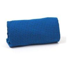 Khăn trải thảm yoga silicon cao cấp Zeno (Xanh dương)
