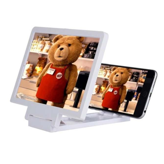 Hình ảnh Kính phóng đại hình ảnh 3D Protab cho smartphone (Trắng)