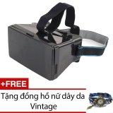 Bán Kinh Thực Tế Ảo 3D Protab Đen Tặng 1 Đồng Hồ Nữ Day Da Vintage Ac001 Xanh Dương Trong Vietnam