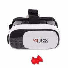 Kính thực tế ảo VR Box phiên bản 2 Tặng 1 giá đỡ điện thoại hình con heo