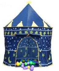 Hình ảnh Lều chơi hoàng tử công chúa cho bé (Xanh)