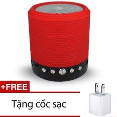 Bán Loa Bluetooth Đa Năng Khong Day Ws 631 Đỏ Tặng 1 Cốc Sạc Hồ Chí Minh