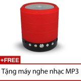 Ôn Tập Trên Loa Bluetooth Đa Năng Khong Day Ws 631 Đỏ Tặng 1 May Nghe Nhạc Mp3