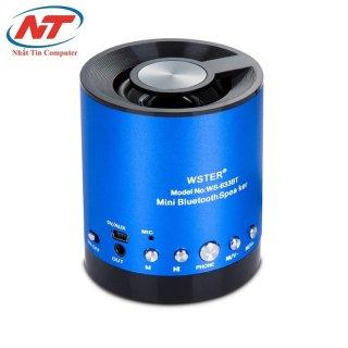 [HCM]Loa bluetooth đa năng Wster WS-633BT (Xanh dương) - Nhất Tín Computer thumbnail