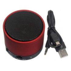 Loa Bluetooth Mini Speaker New Pattern (Đỏ)