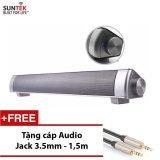 Ôn Tập Loa Bluetooth Suntek Jhw V361 Bạc Tặng Kem Cap Audio Jack 3 5Mm 2 Đầu Cao Cấp Trị Gia 109000Đ
