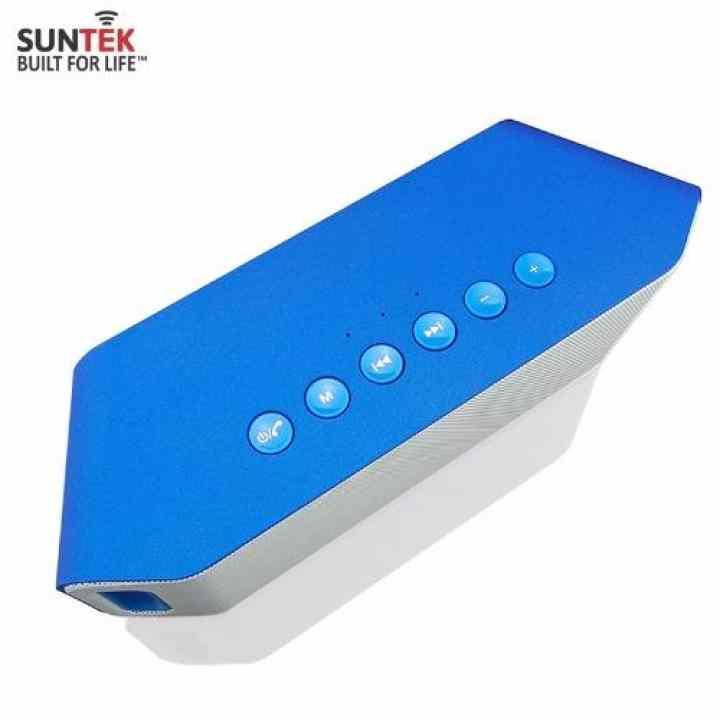 Loa Bluetooth SUNTEK S204 (Xanh) + Tặng kèm Cáp Audio Jack 3.5mm 2 đầu