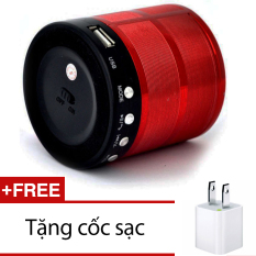 Bán Mua Loa Bluetooth Usb Thẻ Nhớ Ws 887 Nau Đỏ Tặng 1 Cốc Sạc Hồ Chí Minh