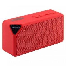 Bán Loa Bluetooth Wireless Speaker X3 Đỏ Hà Nội Rẻ