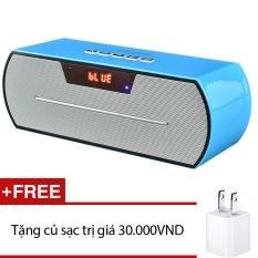 Mua Loa Bluetooth Wster Ws Y69B Xanh Tặng 1 Cốc Sạc