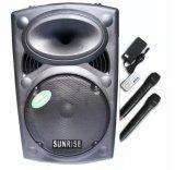 Mã Khuyến Mại Loa Keo Bluetooth Sunrise Pt 12 Đen Rẻ