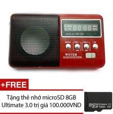 Ôn Tập Loa Nghe Nhạc Đa Năng Wster Ws 239 Đỏ Tặng 1 Thẻ Nhớ Microsd 8Gb Ultimate 3 Wster Trong Hồ Chí Minh