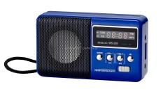 Bán Loa Nghe Nhạc Nhỏ Gọn Đa Năng Usb Thẻ Nhớ Đai Fm Mini Digital W239 Loại 1 V3 Xanh Mới