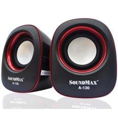 Bán Loa Soundmax A130 2 Đỏ Nguyên