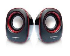 Giá Bán Loa Vi Tinh Soundmax A 130 Đen Viền Đỏ