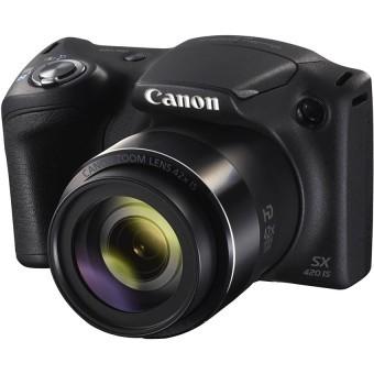 Ôn Tập Tốt Nhất May Ảnh Kts Canon Powershot Sx420Is 20Mp Va Zoom Quang 42X Đen