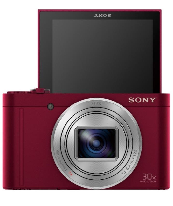 Máy ảnh KTS Sony Cyber-shot DSC-WX500R 18.2MP và Zoom quang 30x ( Đỏ)