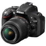 Bán May Ảnh Nikon D5200 24 1Mp Với Lens Kit 18 55Mm F3 5 5 6 Vr Đen Hang Nhập Khẩu Vietnam Rẻ
