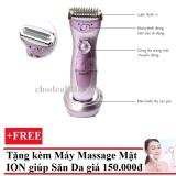 Cửa Hàng Bán May Cạo Long Toan Than Kemei Tặng May Massage Mặt Ds 039 Bằng Ion Trắng